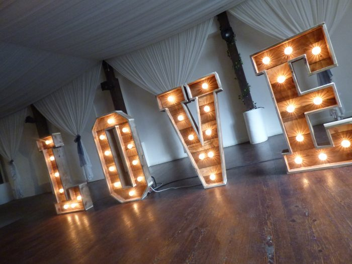 Light Up Letters LOVE