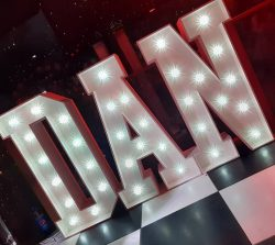 Light Up Name Letters