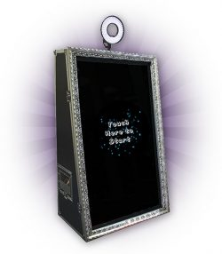 Magic mirror photobooth hire in East London