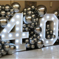 Light Up Numbers hire in Hertfordshire
